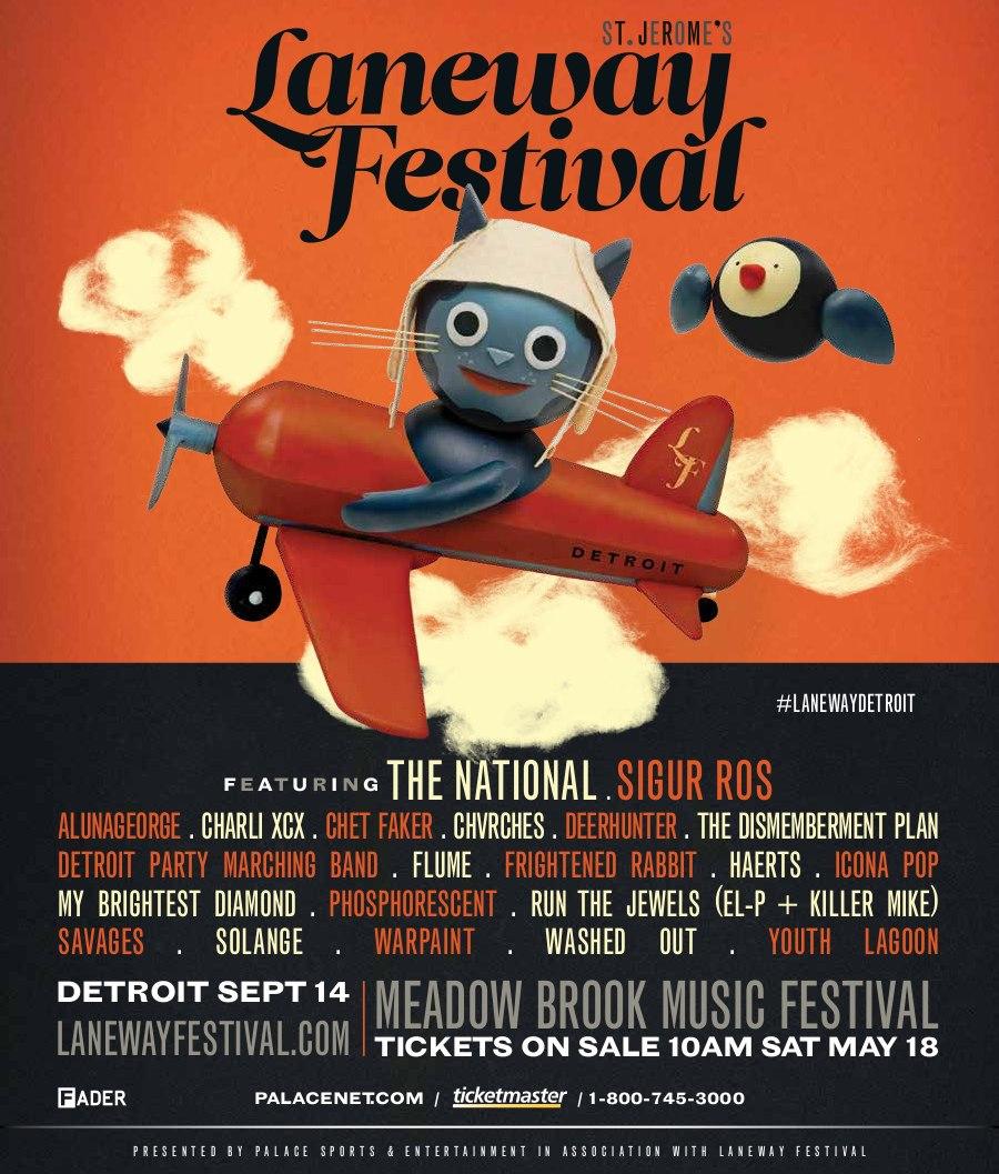 Laneway Festival - Detroit