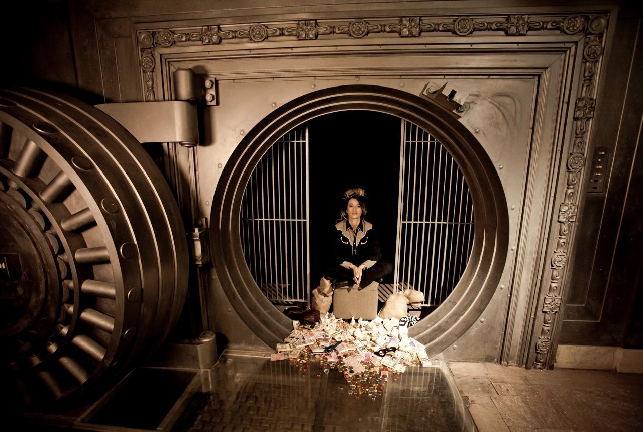 RM - Bankrobber press