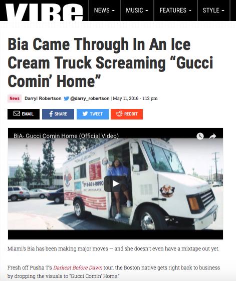 Bia - Gucci - Vibe